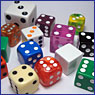 Dice for sale by color
